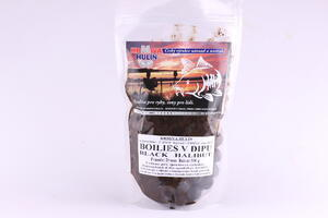Boilies v dipu - BLACK HALIBUT, 500 g - 2